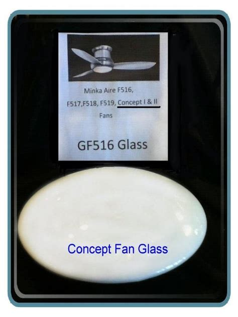 minka aire fan replacement parts minka aire concept glass
