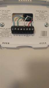 Wiring Placement Honeywell Thermostat