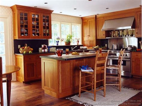 mission style floor ls cherry wood floors kitchens with cherry cabinets and wood