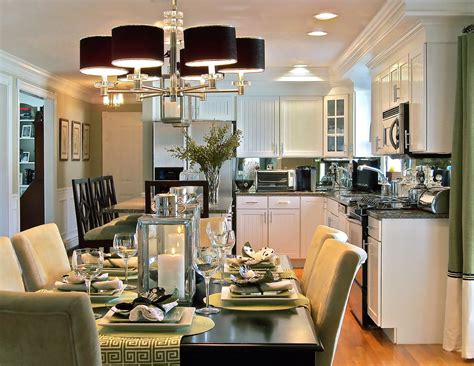 small kitchen dining room ideas small cape home open dining room to kitchen home decor