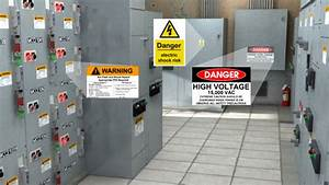 online arc flash training video With electrical control panel labels