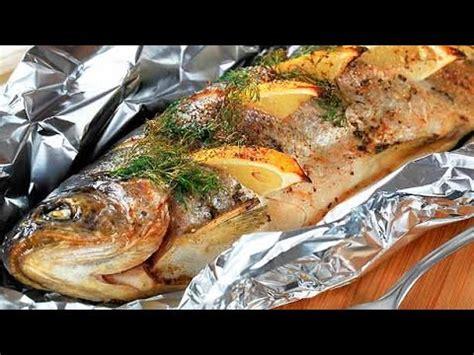 cocinar pescado asado al carbon facil  sencillo youtube