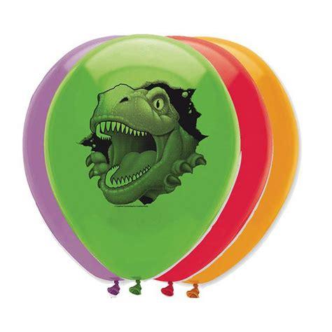 große luftballons kaufen luftballons quot gef 228 hrliche dinosaurier quot 6er pack g 252 nstig kaufen bei partydeko de