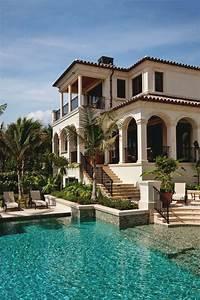 les plus belles maisons du monde With la plus belle maison du monde avec piscine
