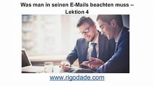 Wohnung Vermieten Was Muss Man Beachten : was man in seinen e mails beachten muss lektion 4 ~ Yasmunasinghe.com Haus und Dekorationen