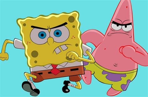 The Student Pocket Guide  Spongebob Characters The Three