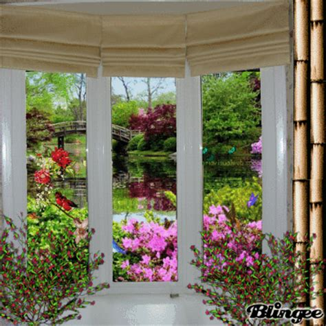 spring window picture  blingeecom