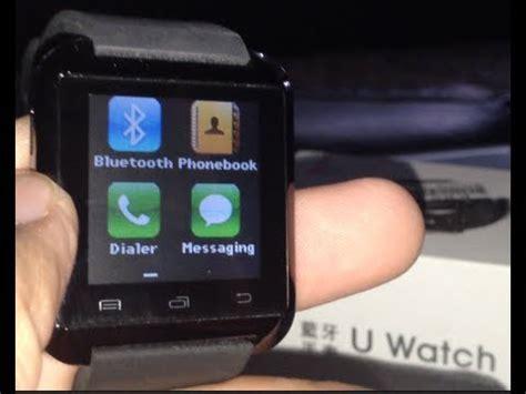 u watch smart watch quick review - YouTube