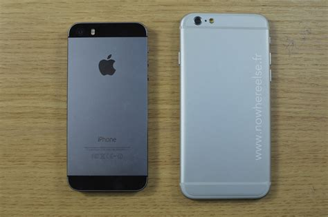 iphone 6 vs iphone 5s new leak gives us a better look at