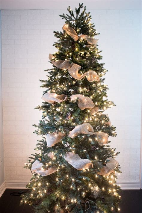 how to put ribbon on christmas tree how to put ribbon garland on a tree tree holidays and decor