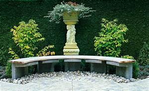 halbrunde gartenbank sitzplatze selbstde With feuerstelle garten mit balkon markise 2m breit