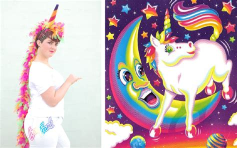 diy lisa frank halloween costume rainbow unicorn wild amor