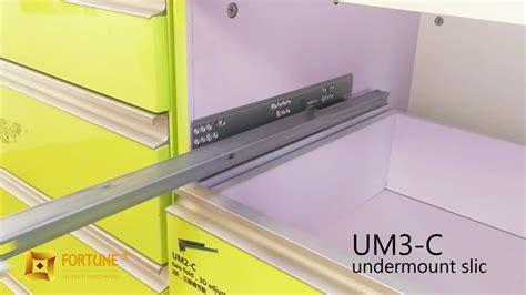 kitchen cabinet undermount drawer slides kitchen hardware extension cabinet concealed 7969