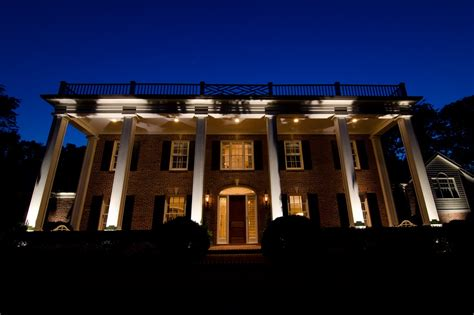 nashville architectural and facade lighting for classic