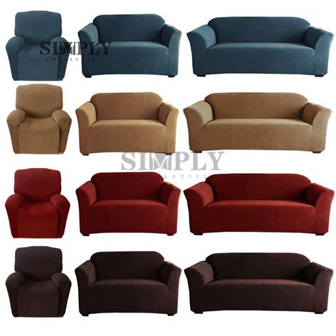 3 Seat Recliner Sofa Covers by Stretch Sofa Covers Slip Cover 1 Seater Recliner 2