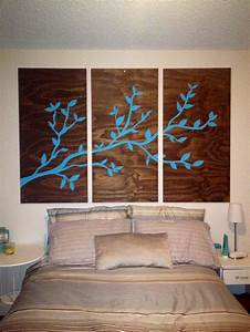 Plywood wall art diy