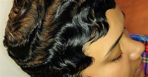 dry waves finger waves short hairstyles short