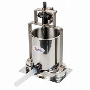 Manual 15 Lb  Vertical Economy Sausage Stuffer With