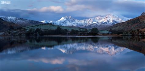 winter landscape photography snowdonia wales