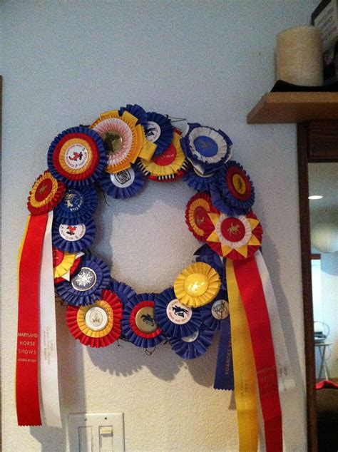 glue horse wreath ribbons gun display grape sunday things afternoon fun project wine nice way some horses