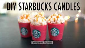 DIY Starbucks Candles - BigDIYIdeas com