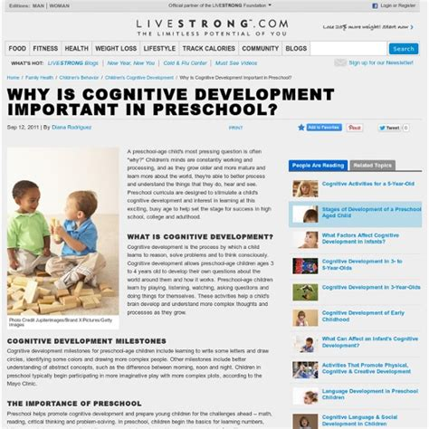 why is cognitive development important in preschool 124 | development preschoolers 50827395