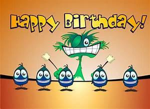 Ecards Monster Birthday