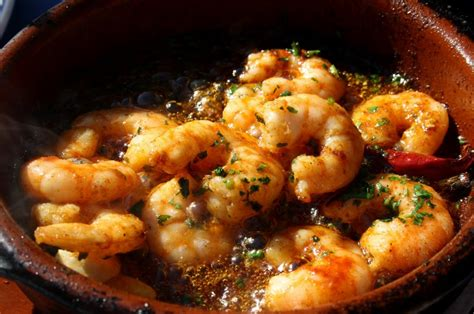cuisine gambas gourmand breaks food wine cultural tours gambas al