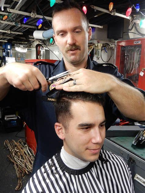 sailors barbershop fundraises give kids jump start pacific navy
