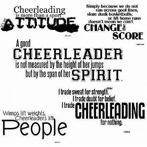 Cheerleading! | cute quotes & things | Pinterest