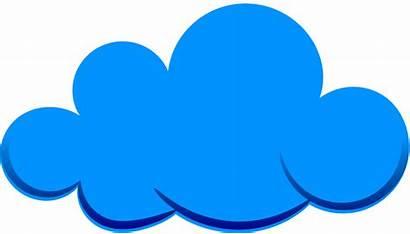 Clouds Cloud Clipart Background Cliparts Cartoon Transparent