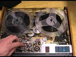 Tandberg Tape Recorder 9041x Inside View