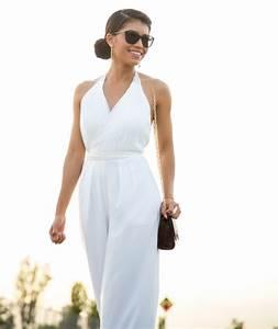 Combinaison Femme Noir Et Blanc : 1001 fa ons de porter la combinaison chic femme pour mariage ~ Melissatoandfro.com Idées de Décoration