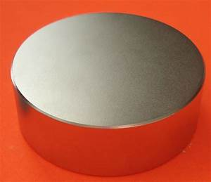 Neodymium Price Chart Strong Neodymium Magnets N45 6 In X 2 In Industrial Disk
