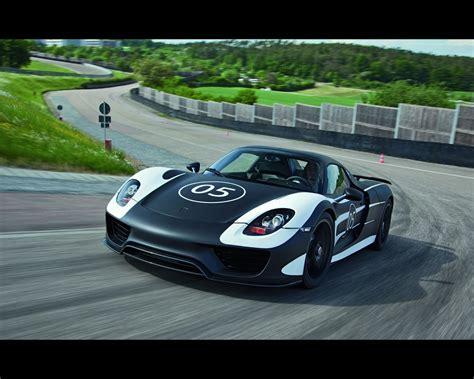 Porsche 918 Spyder Plugin Hybrid Prototype For 2018