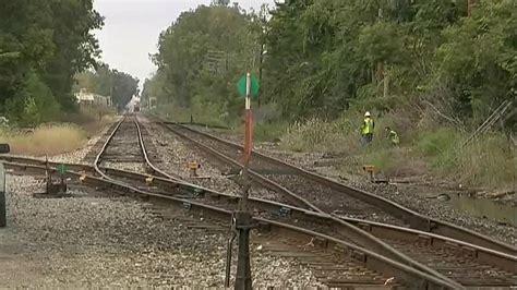 explosion  warren railroad tracks forces conductor