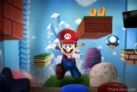 deco chambre mario décor du jeu vidéo mario pour les enfants de la clinique