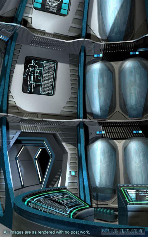 cryogenic chamber  models bluetreestudio