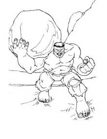free coloring pages incredible hulk images