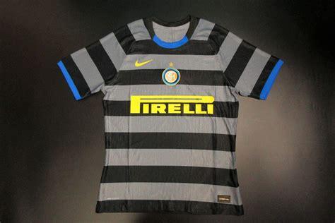 Camisa da Inter de Milão Third 2020/2021 - Versão Jogador ...