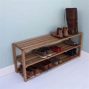 Oak, Shoe, Rack, Ab, Furniture