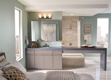 kraftmaid cabinets purchase maple bathroom in pebble grey kraftmaid