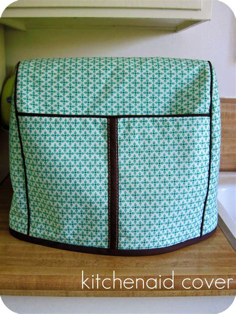homemade  jill kitchenaid mixer cover home sewing