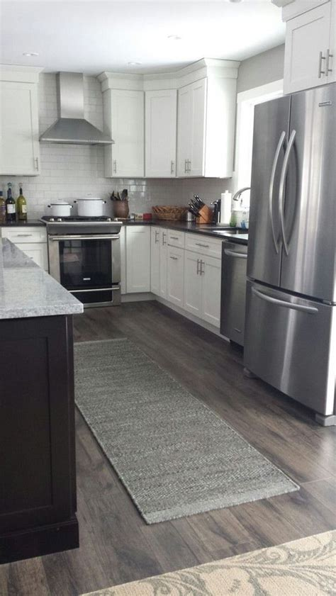 flooring before or after cabinets before and after kitchen on gardenweb wall is bm rockport