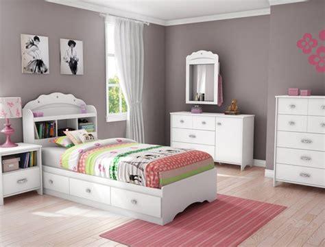 South Shore Tiara Twin Platform Configurable Bedroom Set