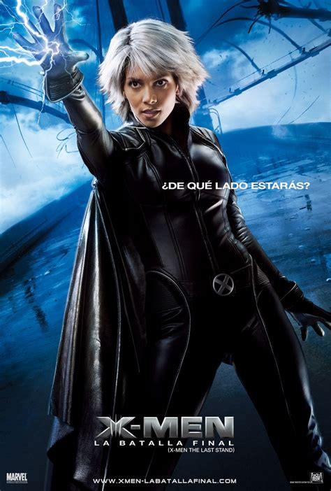I am storm, and for me, there are no such things as limits.―storm. X3-Pos-Storm - X-Men Films: Legacy