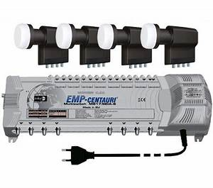 Quattro Lnb Multischalter : multischalter 17 8 emp 4x inverto quattro lnb 190 ~ Watch28wear.com Haus und Dekorationen