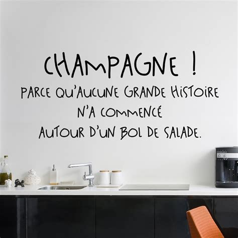 citation pour cuisine sticker citation chagne stickers citations cuisine