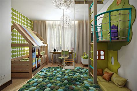 Modern Kids Bedroom Designs Perfect For Both Girls And