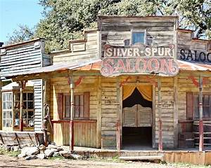 Old Western Saloon Photograph by Terry Fleckney